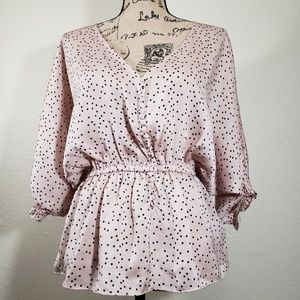 Forever 21 Pink Blouse